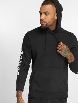 Jack & Jones Hoodie Jorchecker black