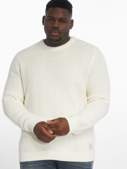 Jack & Jones Pullover jcoStanford white