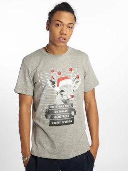 Jack & Jones T-Shirt jorPhotoxmas gray