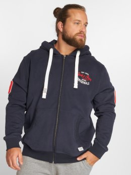 Jack & Jones Zip Hoodie jorFara blue