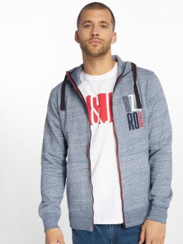 Jack & Jones Zip Hoodie Jcobest blue