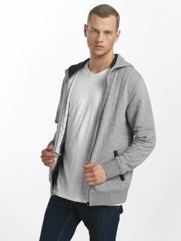 Jack & Jones Zip Hoodie jcoAmos gray