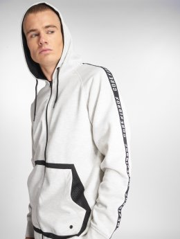 Jack & Jones Zip Hoodie jcoBand white