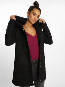 JACQUELINE de YONG Coats jdyDemea Hooded Boucle black