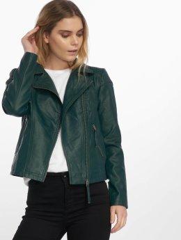 JACQUELINE de YONG Leather Jacket jdyDana Faux Leather green