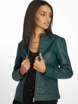 JACQUELINE de YONG Leather Jacket jdyDallas  green