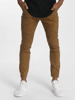John H Sweat Pant Diagonal brown