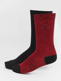 Jordan Socks 2-Pack Elephant Crew red