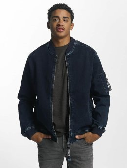 Just Rhyse Lennox Jeans Jacket Blue