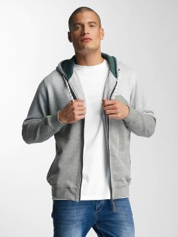 Just Rhyse Zip Hoodie Palo Verde gray
