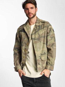 Le Temps Des Cerises Lightweight Jacket Militarie camouflage