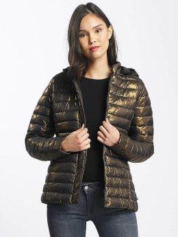 Le Temps Des Cerises Lightweight Jacket Icyfoil gold