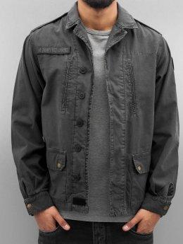 Le Temps Des Cerises Lightweight Jacket Militarie gray