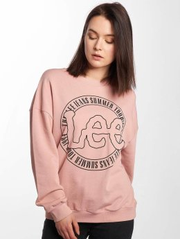 Lee Pullover Logo pink