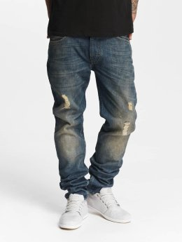 Lee Slim Fit Jeans Rider Destroyed blue