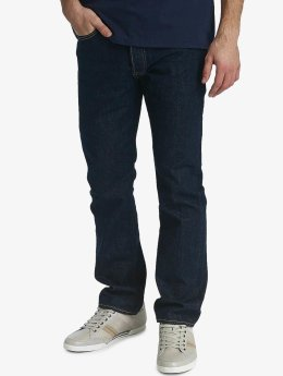 Levi's® Straight Fit Jeans Button Fly Onewash blue