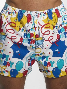 Lousy Livin Boxer Short Happy Birthday colored