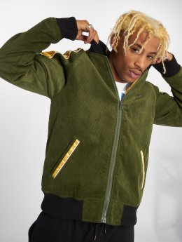 LRG Bomber jacket Common Ground olive