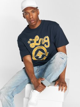 LRG T-Shirt Batik Western Icon blue