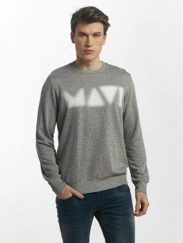 Mavi Jeans Printed Sweatshirt Grey Melange