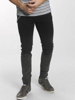 Mavi Jeans Leo Skinny Jeans Dark Smoke Crinkle