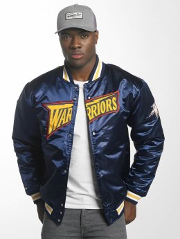 Mitchell & Ness College Jacket HWC Team Golden State Warriors blue