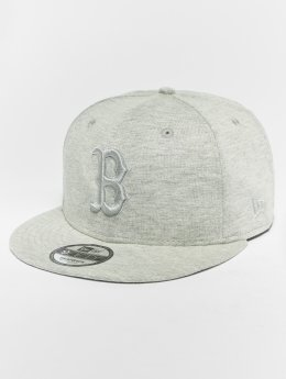 New Era Snapback Cap MLB Essential Bosten Red Sox 9 Fifty gray