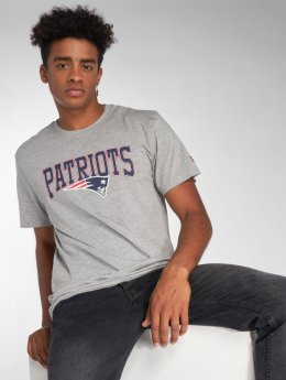 New Era T-Shirt NFL Team New England Patriots gray