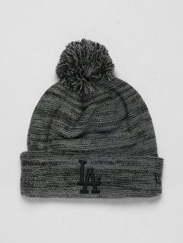 New Era Winter Hat MLB Cuff Los Angeles Dodgers gray