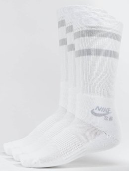 Nike SB Socks SB Crew Skateboarding 3-Pack white