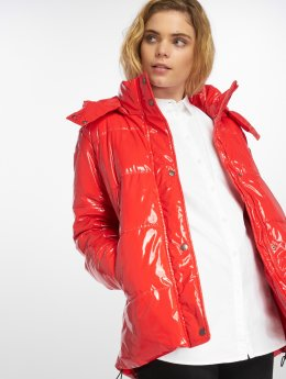 Noisy May Puffer Jacket nmSnipe red