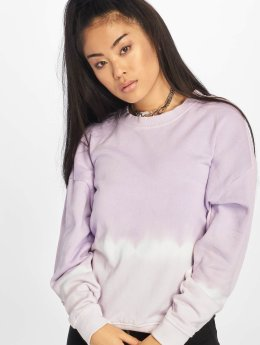 Noisy May Pullover nmChris Dip Dye purple
