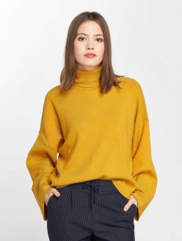Noisy May Pullover nmShip Roll Neck yellow