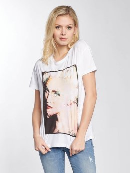 Noisy May T-Shirt nmCommand Madonna white