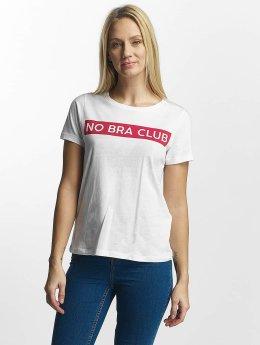 Noisy May T-Shirt Nate white
