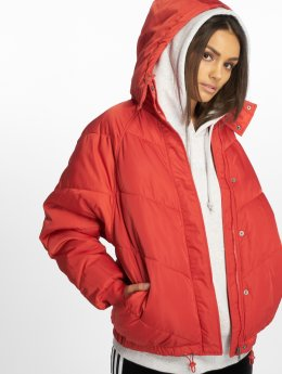 Noisy May Winter Jacket nmAnja red