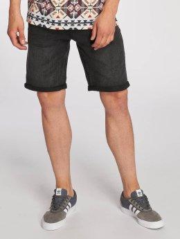 Only & Sons onsCamp Denim Shorts Dark Grey Denim