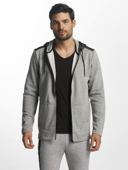 Only & Sons onsTravis Zip Hoody Light Grey Melange