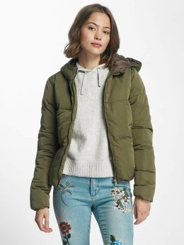 Only Puffer Jacket onlCille Quilted khaki
