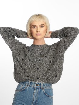Only Pullover onlMadeline Highneck gray