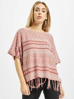 Only Pullover onlArdenay 2/4 Knit Poncho red