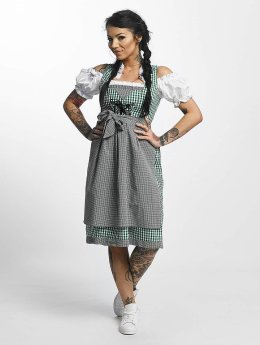 Paris Premium Dress Traditional  green