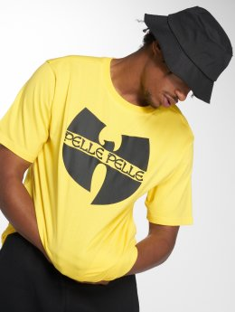 Pelle Pelle T-Shirt x Wu-Tang Batlogo Mix yellow