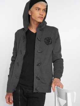 Petrol Industries Cardigan Hooded gray