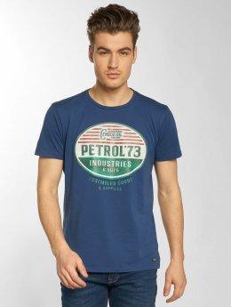 Petrol Industries T-Shirt Goods  blue