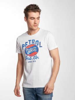 Petrol Industries T-Shirt Crude Oil white