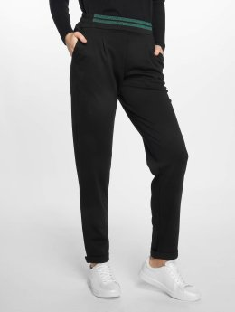 Pieces Chino pants pcTamy Mid Waist black