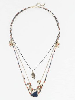 Pieces Necklace PCLaila Long gold