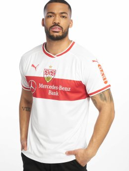 Puma Performance Soccer Jerseys VfB Stuttgart Home white