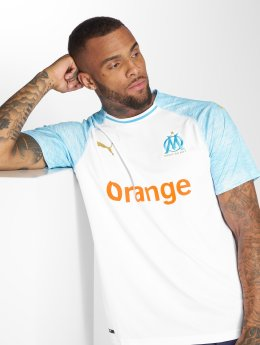 Puma Performance Soccer Jerseys Olympique De Marseille Home white